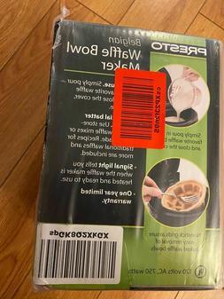 Presto 03500 Waffle Bowl Maker - Black