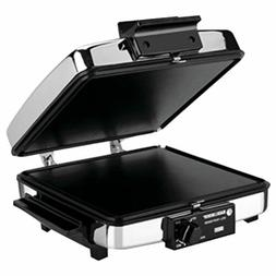 3-In-1 Nonstick Grill Griddle & Waffle Iron Treats Home Chef