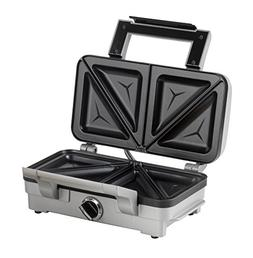 Cuisinart 2-In-1 Sandwich And Waffle Maker, 1000 Watt, Silve