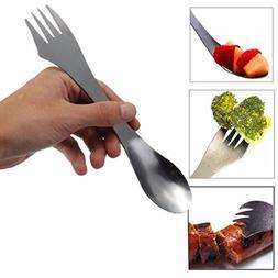 YJYdada 1 Pc Fork Spoon Spork Cutlery Utensil Combo Kitchen