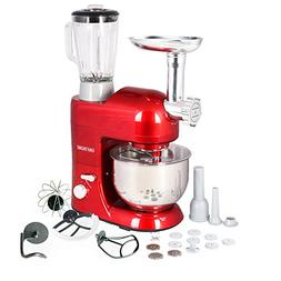 CHEFTRONIC 3 In 1 Upgraded Stand Mixer, 650W Kitchen Mixer S