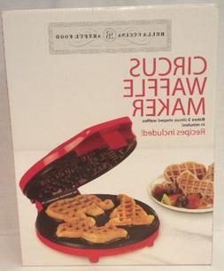 Bella Cucina 13467 Circus Waffle Maker