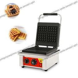 2-Slice Heavy Duty Nonstick Electric Belgian Waffle Iron Mac