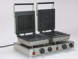 220V electric double <font><b>waffle</b></font> bakers <font