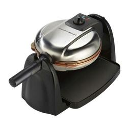 Hamilton Beach 26031 Removable Grid Belgian Waffle Maker 16.