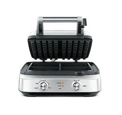 Breville 4 Slice Smart Waffle Maker - BWM604BSS