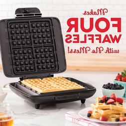 4 Slice Waffle Maker Best Breakfast Paninis Hash Browns Snac