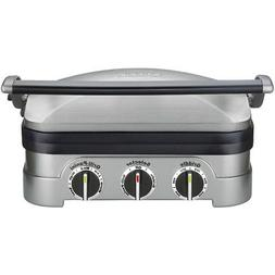 Cuisinart 5-in-1 Griddler with Waffle Plates - Recertified