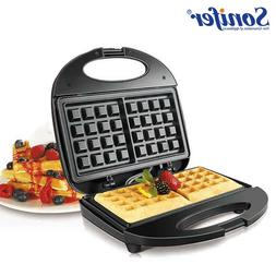 750W Electric <font><b>Waffles</b></font> <font><b>Maker</b>
