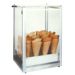 Gold Medal 8211 Display Case, Giant Waffle Cone, Plexiglas W
