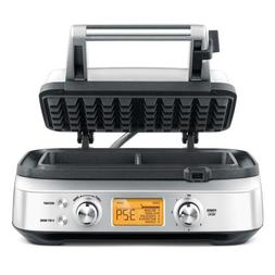 Breville BWM620XL The Smart Pro 2 Slice Waffle Maker, Silver