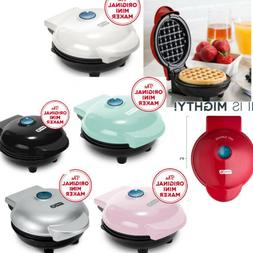 Silver Mini Waffle Maker Machine Iron Paninis Hash Browns Sn