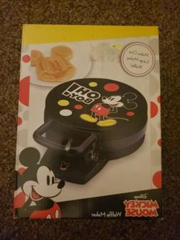 Disney DCM-32 Mickey Mouse Waffle Maker, Black