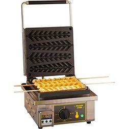 Equipex  - 110 Waffle/Hr Single Cypress Waffle Baker