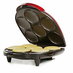 Holstein Housewares - Arepa Maker - Metallic Red