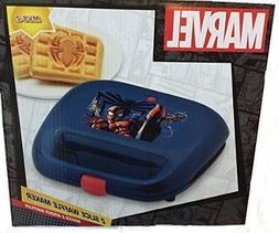 Marvel Spiderman 2 Slice Waffle Maker