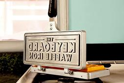 Messy Desk Designs Keyboard Waffle Iron - Cast Iron Stovetop