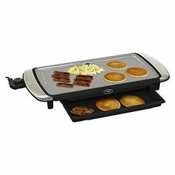 "Oster DuraCeramic 10"" x 20"" Electric Griddle w/Warming T"