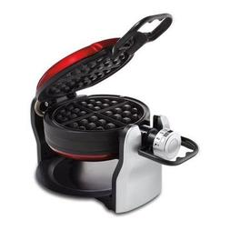 Oster Electric Double Flip Belgian Style Waffle Maker, Red |