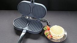 Palmer Electric Belgian Cookie Iron Waffler non stick