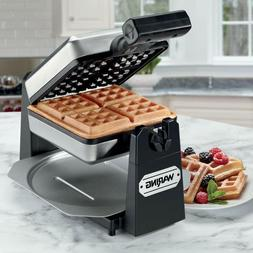 Waring Pro WMK250SQ 4-Slice Belgian Waffle Maker, Stainless