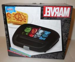 Avengers Themed 2 Slice Waffle Maker Appliance - A Logo MARV