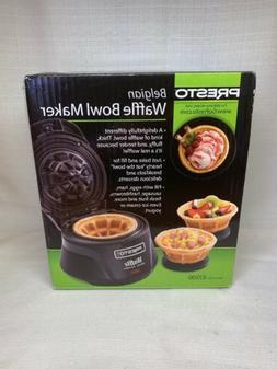 Presto Belgian Waffle Bowl Maker Kitchen Breakfast Brunch D