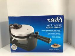 Oster Belgian Flip Waffle Maker NIP