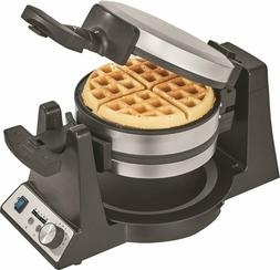 Pro Series Belgian Flip Waffle Maker Stainless Steel up to 2