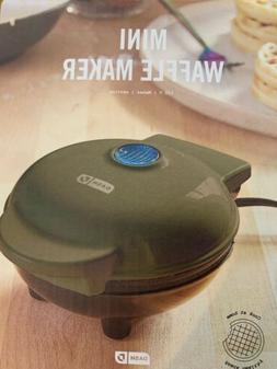 Belgian Mini Waffle Maker Non Stick Breakfast Iron Kitchen D