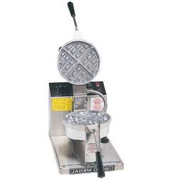 """Gold Medal Belgian Waffle Baker, Round, 7-1/4"""" Diameter, Rem"""