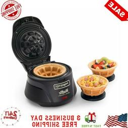 Belgian Waffle Bowl Maker Electric Iron Press Kitchen Counte