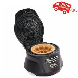Belgian Waffle Bowl Maker Machine Kitchen Breakfast One Size