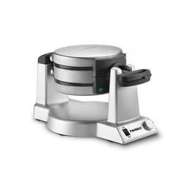 Belgian Waffle Maker 2-Waffle Stainless Steel Flip Iron Gour