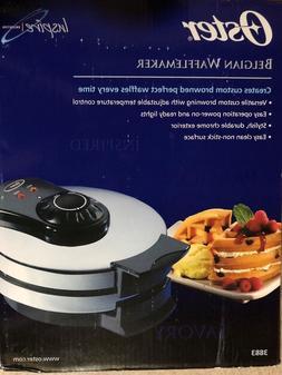 Oster Belgian Waffle Maker Chrome Model 3883 NIB
