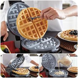Belgian Waffle Maker Commercial Double Waring Breakfast Stai