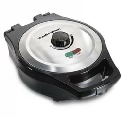 Belgian Waffle Maker Hamilton Beach Kitchen Stainless Steel