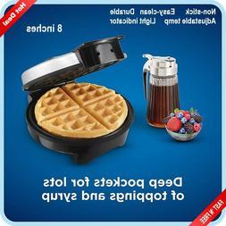 Belgian Waffle Maker Machine Individual Breakfast Paninis Ha
