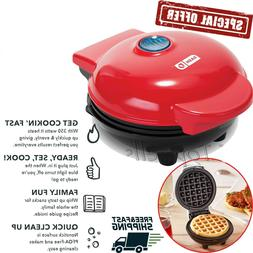 Belgian WAFFLE MAKER Machine Individual Breakfast Paninis Ha