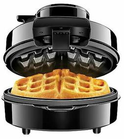 Chefman Perfect Pour Volcano Belgian Waffle Maker w/No Overf