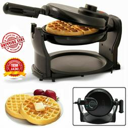 belgian waffle maker rotating commercial non stick