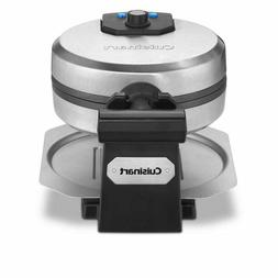 Cuisinart Belgian Waffle Maker Round, Stainless Steel   WAF-
