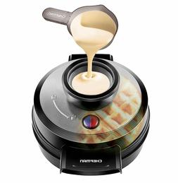 Chefman Belgian Waffle Maker, Patented No Overflow Perfect P