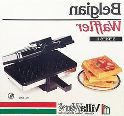 belgian waffler 3300 series ii new