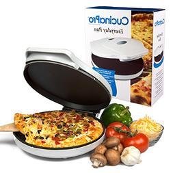 Betty Crocker Pizza Maker white Oven Bake Easy Mini Cooker E
