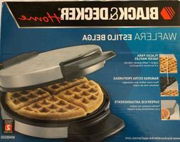 Black and Decker Belgian Waffle Maker  - WMB500 - Nonstick S