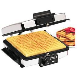 BLACK+DECKER G48TD 3-in-1 Waffle Maker & Indoor Grill/Griddl