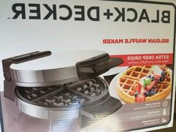 BLACK+DECKER WMB500 Belgian Waffle Maker, Stainless Steel, N
