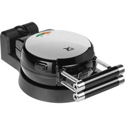Kalorik Black and Stainless Steel Belgian Waffle Maker with