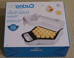 CucinaPro Bubble Waffle Maker - Brand New - Unopened Box